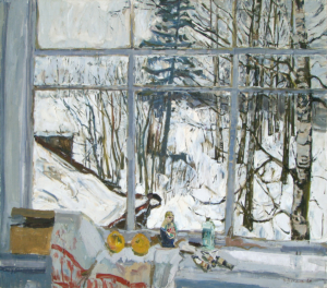 Зимнее окно Загонек