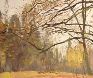 Осенний дуб Загонек