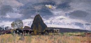 Cows at the Stack Загонек