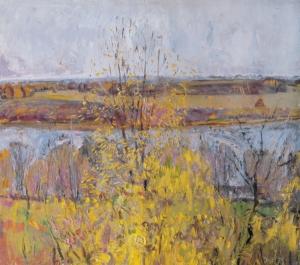 The River Volkhov. Fall Загонек