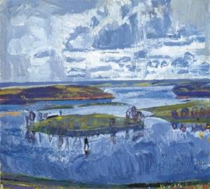 Разлив реки Загонек
