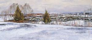 Зимний день Загонек
