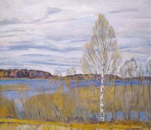 Октябрь. Озеро Мстино Загонек