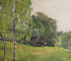 Деревня Загонек