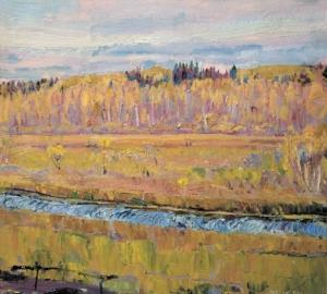 Осень. Река Радунка Загонек