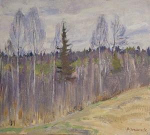 Просыпающийся лес Загонек